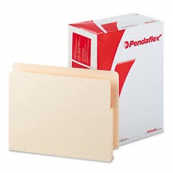 Esselte Pendaflex - 12831 - Esselte Pendaflex Convertible End Tab File Pocket - Letter - 8 1/2 x 11 Sheet Size - 1 3/4 Expansion - Manila - Manila - Recycled - 25 / Box