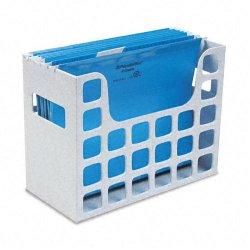 Esselte Pendaflex - 23054 - Esselte Oxford DecoFlex Desktop File Organizer - 9.5 Height x 12.2 Width x 6 Depth - Desktop, Drawer - Granite - Plastic - 4 / Carton
