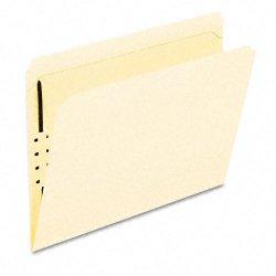 Esselte Pendaflex - FM211 - Esselte Fastener Folder - Letter - 8.5 x 11 - Straight Tab Cut - 1 Fastener - 2 Capacity - 50 / Box - 11pt. - Manila