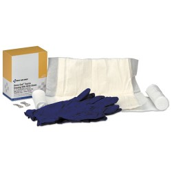 First Aid Only - 2014 - Refill for SmartCompliance General Business Cabinet, (1) Box of Trauma Dressing