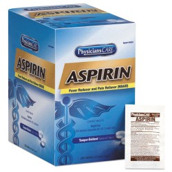 First Aid Only - 54034A - Aspirin Tablets, 250 Doses per box