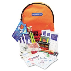 First Aid Only - 90001 - Emergency Preparedness First Aid Backpack, 63 Pieces/Kit