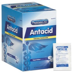 First Aid Only - 90110A - Analgesics & Antacids Refills for First Aid Cabinet, 250 Doses per box