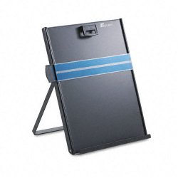 "Fellowes - 11053 - Fellowes Metal Copyholder - 11.4"" Height x 10.6"" Width x 8.4"" Depth - Black - Metal"
