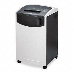"Fellowes - 38425 - Fellowes Powershred 425Ci 100% Jam Proof Cross-Cut Shredder - Cross Cut - 28 Per Pass - for shredding Staples, Credit Card, CD, DVD, Paper Clip, Junk Mail - 0.16"" x 1.13"" Shred Size - P-4 - 20 ft/min - 12"" Throat - 30 gal Wastebin"