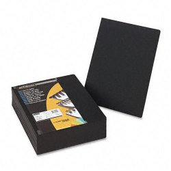 Fellowes - 52115 - Fellowes Linen Unpunched Presentation Covers - 11.3 Height x 8.8 Width x 0.1 Depth - 8 3/4 x 11 1/4 Sheet - Black - Linen - 200 / Pack