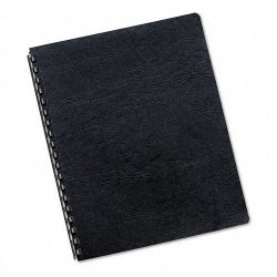 Fellowes - 52124 - Fellowes Classic Grain Presentation Cover - 11 Height x 8.5 Width x 0.1 Depth - For Letter 8 1/2 x 11 Sheet - Rectangular - Navy - Leather - 50 / Pack