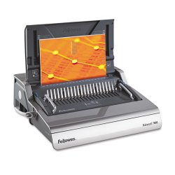 Fellowes - FEL5218301 - High Performance Plus Convenient Electric Punching For Large Offices. Punches 25