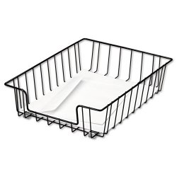 Fellowes - 60112 - Fellowes Wire 3 Letter Tray - Compartment Size 8.50 x 11 x 3 - 3 Height x 10 Width x 14.1 Depth - Desktop - Black - Steel - 1Each