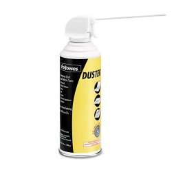 Fellowes - 9963101 - Fellowes Pressurized Duster - For Home/Office Equipment - Moisture-free, Oil-free, Residue-free, Ozone-safe, CFC-free - 1 Each - White
