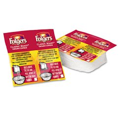 Folgers - 06930 - Coffee, Classic Roast Regular, 9/10oz Vacket Pack, 42/Carton