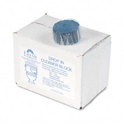 Fresh Products - 24DIF - Drop-In Tank Non-Para Cleaner Block, 24/Box