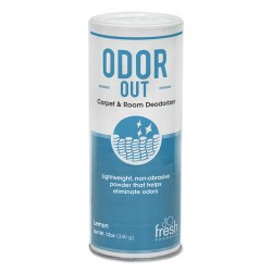 Fresh Products - 12-14-00BO - Odor-Out Rug/Room Deodorant, Bouquet, 12oz, Shaker Can, 12/Box