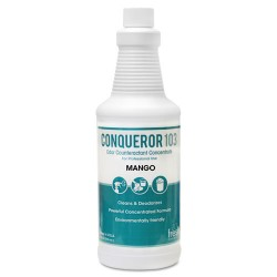 Fresh Products - 12-32WB-MG - Conqueror 103 Odor Counteractant Concentrate, Mango, 32oz Bottle, 12/Carton
