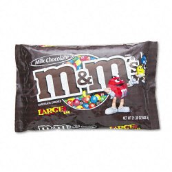 M&M Industries - 24908 - M & M's Chocolate Candies, 19.2oz Pack