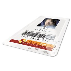 Wilson Jones - 56005 - UltraClear Thermal Laminating Pouches, ID Badge, 5mil, 2 5/8 x 3 7/8, 100/Pack