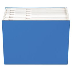 "Globe-Weis - 20527 - Case File, 12 Pocket, 3/4"" exp., Letter, Blue, 1/ea"