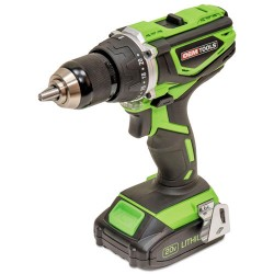 Great Neck - GNS24482 - Heavy Duty 20V Cordless Hammer Drill, 2000 rpm, 1/2 Jacob's Chuck, 20 Volt