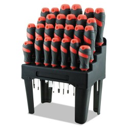 Great Neck - GNS60179 - Screwdriver Set and Storage Rack, 26-Piece