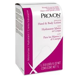 Gojo - 2533-08 - Moisturizing Hand & Body Lotion, 1000 ml, Bag-in-Box Refill, Fragrance-Free