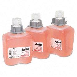 Gojo - 5161-03 - FMX-12 Foam Hand Wash, Cranberry, FMX-12 Dispenser, 1250mL Pump, 3/Carton