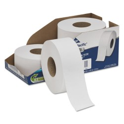 Georgia Pacific - 2172114 - Georgia-Pacific Professional Srs Jumbo Bath Tissue - 2 Ply - 3.50 x 1000 ft - 9 Roll Diameter - White - Perforated, Septic-free, Sewer-safe - 4 Roll
