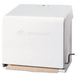 Georgia Pacific - GPC 562-01 - Mark II Crank Roll Towel Dispenser, 10 3/4 x 8 1/2 x 10 3/5, White