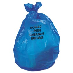 Heritage Bag - B6043PX - Linear Low Density Health Care Can Liners, 1.3 mil, 30 x 46, Blue, 200/Carton