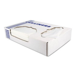 Heritage Bag - D4832RC - Low-Density Can Liners, 12-16 gal, 0.35 mil, 24 x 32, Clear, 1000/Carton