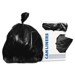 Heritage Bag - D4832RK - Low-Density Can Liners, 12-16 gal, 0.35 mil, 24 x 32, Black, 1000/Carton