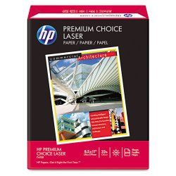 Hewlett Packard (HP) - 113100 - International Paper Premium Choice Laser Paper - Letter - 8 1/2 x 11 - 32 lb Basis Weight - 98 Brightness - White