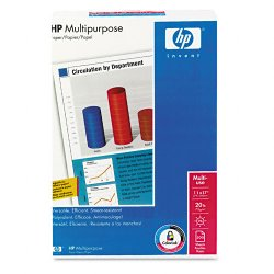 Hewlett Packard (HP) - 172001 - HP Multipurpose Paper - Ledger/Tabloid - 11 x 17 - 20 lb Basis Weight - Smooth - 96 Brightness - White