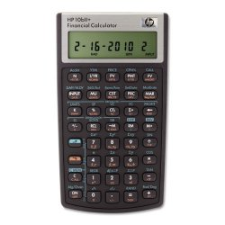 "Hewlett Packard (HP) - NW239AA#ABA - HP 10BIIPlus Financial Calculator - 1 Line(s) - 12 Digits - LCD - Battery Powered - 5.7"" x 3.2"" x 0.6"" - 1 Each"