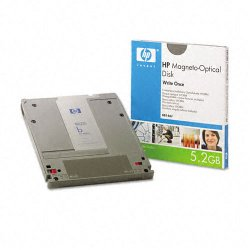 "Hewlett Packard (HP) - 88146J - HP 5.25"" Magneto Optical Media - 5.20 GB - 5.25"" - 8x"