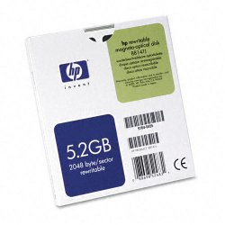 "Hewlett Packard (HP) - 88147J - HP 5.25"" Magneto Optical Media - 5.20 GB - 5.25"" - 8x"