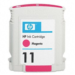 Hewlett Packard (HP) - C4837A - HP 11 Magenta Original Ink Cartridge - Inkjet - 2000 Pages - 1 Each