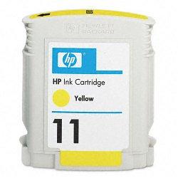 Hewlett Packard (HP) - C4838A - HP 11 Original Ink Cartridge - Single Pack - Inkjet - 2550 Pages - Yellow - 1 Each