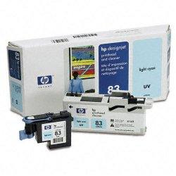 Hewlett Packard (HP) - C4964A - HP 83 Original Printhead - Single Pack - Inkjet - 1000 Pages - Light Cyan