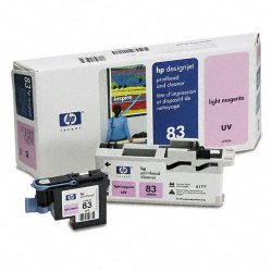 Hewlett Packard (HP) - C4965A - HP 83 Original Printhead - Single Pack - Inkjet - 1000 Pages - Light Magenta