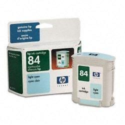 Hewlett Packard (HP) - C5017A - HP 84 Cyan Ink Cartridge - Inkjet - 1 Each