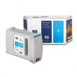 Hewlett Packard (HP) - C5060A - HP 90 Cyan Ink Cartridge - Inkjet - 1 Each
