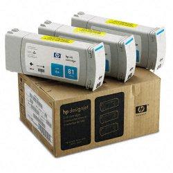 Hewlett Packard (HP) - C5067A - HP Cyan Ink Cartridge - Inkjet - 1000 Page - 3 / Pack