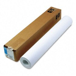 Hewlett Packard (HP) - C6019B - HP Inkjet Print Coated Paper - A1 - 24 x 1800 - 24 lb Basis Weight - 90 Brightness - 1 / Roll - Bright White
