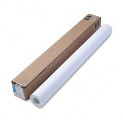 "Hewlett Packard (HP) - C6030C - HP Coated Paper - A0 - 36"" x 100 ft - 35 lb Basis Weight - 90 Brightness - White"