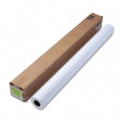 "Hewlett Packard (HP) - C6569C - HP Coated Paper - 42"" x 100 ft - 35 lb Basis Weight - Matte - 90 Brightness - 1 / Roll - Bright White"