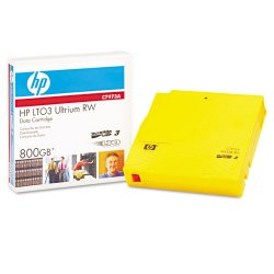 Hewlett Packard (HP) - C7973A - HP-IMSourcing LTO-3 Ultrium 800 GB Re-writable Data Cartridge - LTO-3 - Rewritable - Labeled - 400 GB (Native) / 800 GB (Compressed) - 2690.29 ft Tape Length - 1 Pack