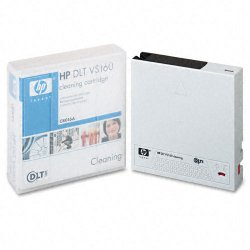 Hewlett Packard (HP) - C8016A - HP DLT VS160 Cleaning Cartridge - DLTtape VS1 - 1 Pack
