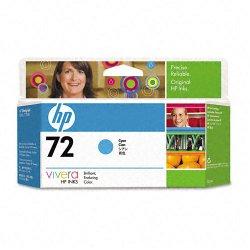 Hewlett Packard (HP) - C9371A - HP 72 Cyan Ink Cartridge - Inkjet - 1 Each