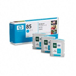 Hewlett Packard (HP) - C9431A - HP 85 Original Ink Cartridge - Inkjet - Cyan