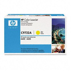 Hewlett Packard (HP) - C9722A - HP 641A Original Toner Cartridge - Laser - 8000 Pages - Yellow - 1 Each